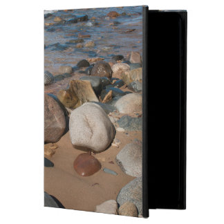 USA, Michigan. Rounded Boulders On 12 Mile iPad Air Case