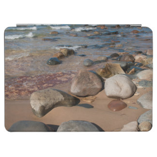 USA, Michigan. Rounded Boulders On 12 Mile iPad Air Cover