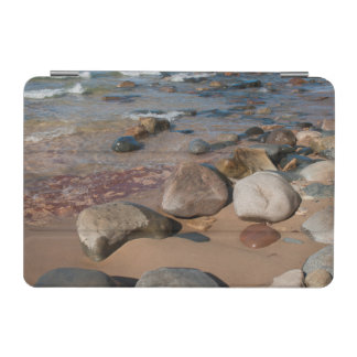 USA, Michigan. Rounded Boulders On 12 Mile iPad Mini Cover