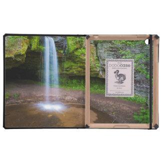 USA, Michigan. Scott's Falls In Upper Michigan iPad Case
