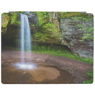 USA, Michigan. Scott's Falls In Upper Michigan iPad Cover