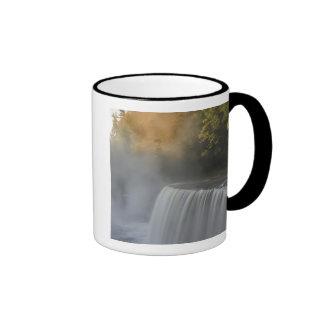 USA, Michigan, Upper Peninsula. Autumn sunrise Mugs