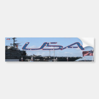 USA Midway Bumper Sticker