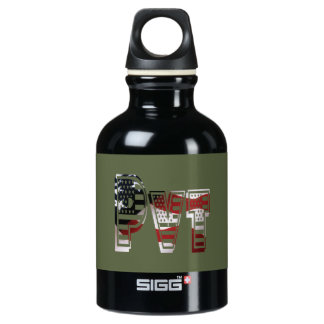 USA Military Green American Pvt Private SIGG Traveller 0.3L Water Bottle