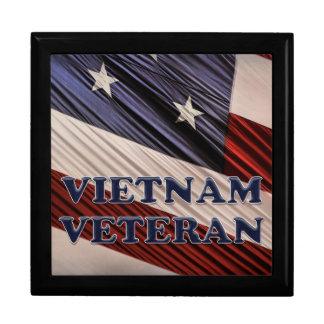 USA Military Patriotic Flag Vietnam Veteran Gift Box
