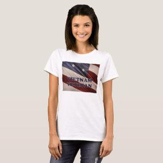 USA Military Patriotic Flag Vietnam Veteran T-Shirt