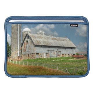 USA, Minnesota Barn And Silo MacBook Air Sleeve