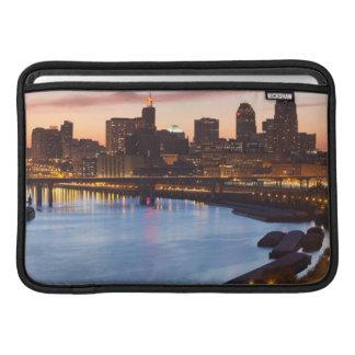 USA, Minnesota, Minneapolis, St. Paul 2 MacBook Sleeves