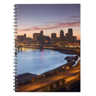 USA, Minnesota, Minneapolis, St. Paul 2 Spiral Notebooks