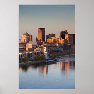USA, Minnesota, Minneapolis, St. Paul 3 Print