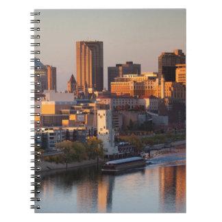 USA, Minnesota, Minneapolis, St. Paul 3 Spiral Notebook