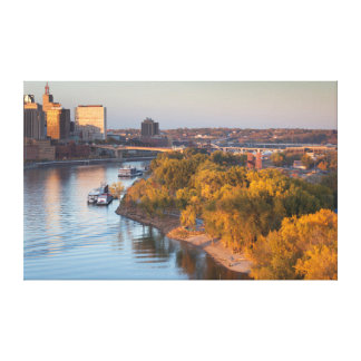 USA, Minnesota, Minneapolis, St. Paul Canvas Print