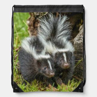 USA, Minnesota, Sandstone, Minnesota Wildlife 13 Drawstring Bag