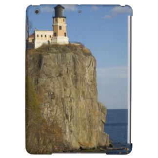 USA, Minnesota.  Split Rock Lighthouse on Lake