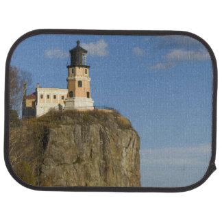 USA, Minnesota.  Split Rock Lighthouse on Lake Car Mat