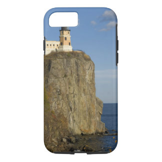 USA, Minnesota.  Split Rock Lighthouse on Lake iPhone 8/7 Case