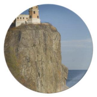USA, Minnesota.  Split Rock Lighthouse on Lake Plate