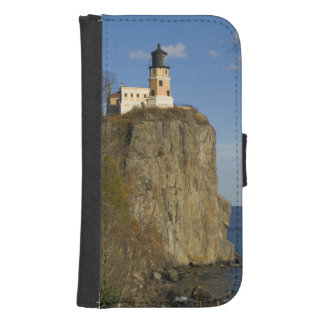 USA, Minnesota.  Split Rock Lighthouse on Lake Samsung S4 Wallet Case