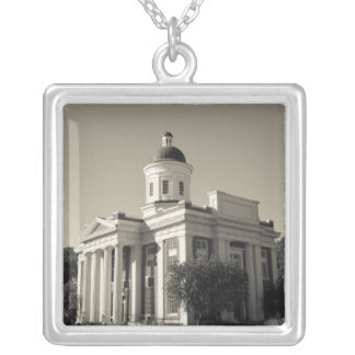 USA, Mississippi, Canton. Cinema town of central Silver Plated Necklace