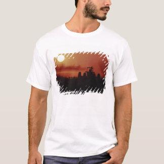 USA, Mississippi, disking cotton field T-Shirt