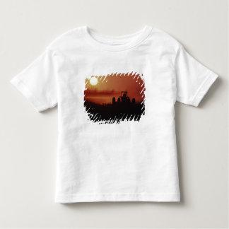 USA, Mississippi, disking cotton field Toddler T-Shirt