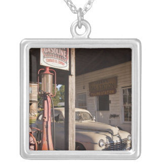 USA, Mississippi, Jackson. Mississippi 2 Silver Plated Necklace