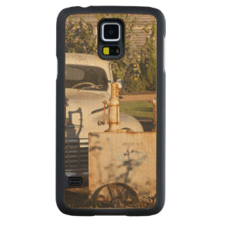 USA, Mississippi, Jackson. Mississippi Carved Maple Galaxy S5 Case