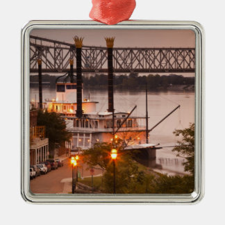 USA, Mississippi, Natchez. Natchez Under the Christmas Ornament