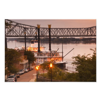 USA, Mississippi, Natchez. Natchez Under the Photo Print