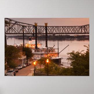 USA, Mississippi, Natchez. Natchez Under the Poster