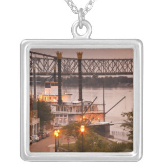 USA, Mississippi, Natchez. Natchez Under the Silver Plated Necklace