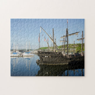 USA, Mississippi, Tennessee-Tombigbee Waterway Puzzle