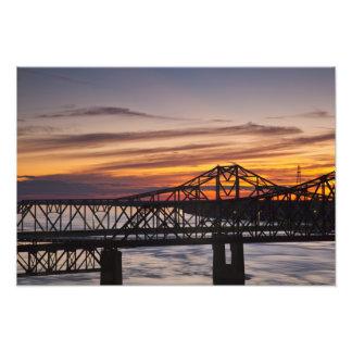 USA, Mississippi, Vicksburg. I-20 Highway and Photo