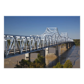 USA, Mississippi, Vicksburg. I-20 Highway Photograph