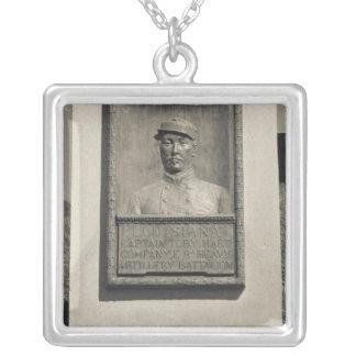 USA, Mississippi, Vicksburg. Riverfront Park, US Silver Plated Necklace