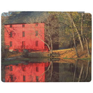 USA, Missouri, Alley Mill At Alley Spring Ozark iPad Cover