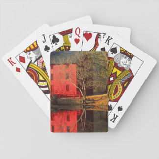 USA, Missouri, Alley Mill At Alley Spring Ozark Playing Cards