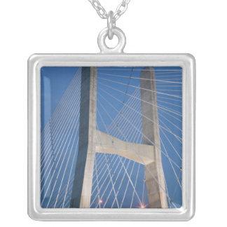 USA, Missouri, Cape Girardeau: The Bill 2 Silver Plated Necklace