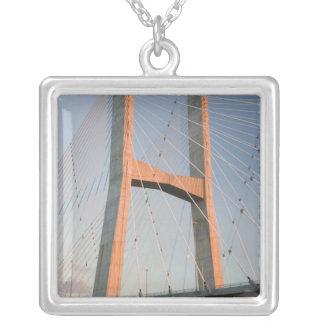 USA, Missouri, Cape Girardeau: The Bill Silver Plated Necklace