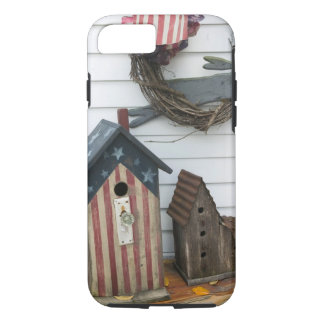 USA, Missouri, Herman: Patriotic Birdhouses, iPhone 8/7 Case