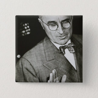 USA, Missouri, Independence, Truman Presidential 15 Cm Square Badge
