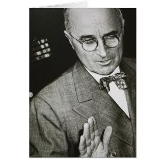USA, Missouri, Independence, Truman Presidential Card