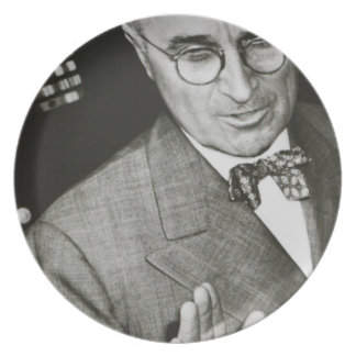 USA, Missouri, Independence, Truman Presidential Party Plates