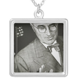 USA, Missouri, Independence, Truman Presidential Silver Plated Necklace