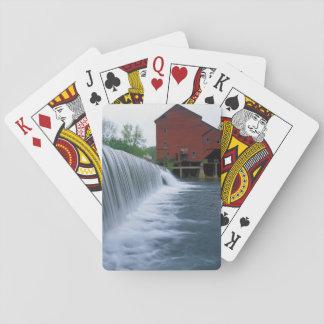 USA, Missouri, Ozark County, Rockbridge Mill Playing Cards