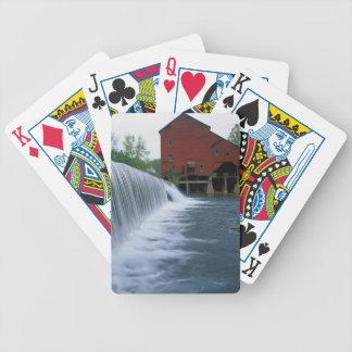 USA, Missouri, Ozark County, Rockbridge Mill Poker Deck