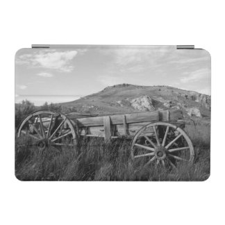 USA, Montana, Bannack State Park Old wagon made iPad Mini Cover