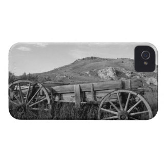 USA, Montana, Bannack State Park Old wagon made iPhone 4 Cover