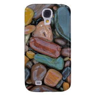 USA, Montana, Clark Fork River, Stones Galaxy S4 Case