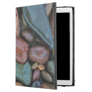 "USA, Montana, Clark Fork River, Stones iPad Pro 12.9"" Case"